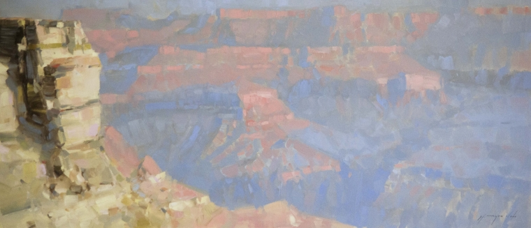 Grand Canyon Arizona, Landscape oil Painting, Handmade art, One of a Kind, Signed