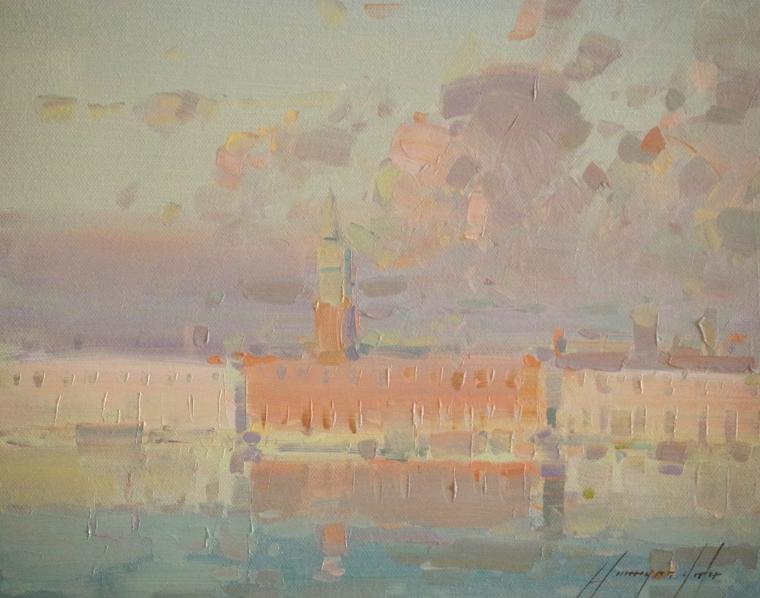 Venice, Cityscape, Original oil Painting, Handmade art, One of a Kind