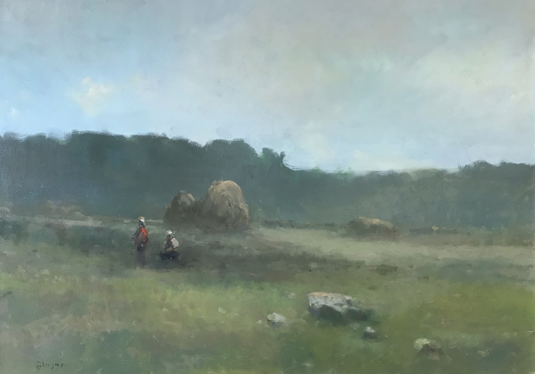 Landscape Original oil Painting, Museum Quality, One of a Kind